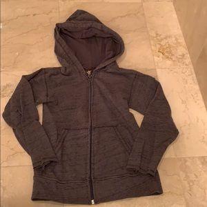 Charlie Rocket zip-up hoodie